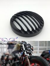 Motorcycle Black Headlight Lamp Grill Cover For Harley Sportster XL Dyna Softail