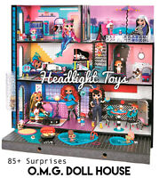 NEW 2020 LOL Surprise OMG Fashion Doll House Real Wood & Furniture In Hand