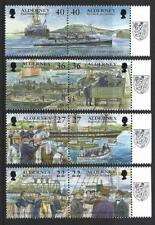 ALDERNEY 2001 GARRISON ISLAND 5TH SERIES THE ROYAL NAVY UNMOUNTED MINT, MNH