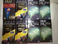 24 x Blank VHS Tapes All Brand New Sealed