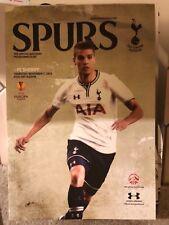 Tottenham V FC Sheriff 07/11/13 football programme