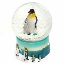 Ravensden Penguin With Chick Snow Globe - Collectable Gift Idea Decoration