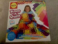 Alex Knot-A-Quilt Kit Super Fleece Soft Ages 6+ New!