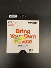 Verizon Phone Sim Kit w/ 3-in-1 Sim Standard Micro Nano