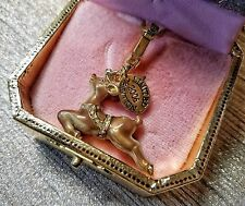 Authentic 2006 Limited Edition Juicy Couture Reindeer Charm Pendant NIB