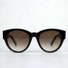 $470 Alexander McQueen Havana Acetate Sunglasses w/Spikes AM0054S 442136 2302