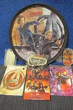 2015 Avenger Age of Ultron Dog Tag, Magnet Card, FlyingDisc, Sticker Black Widow