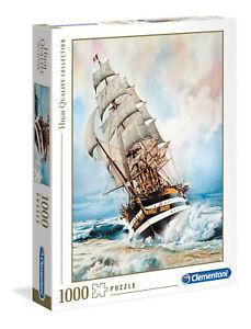 Clementoni Jigsaw Puzzle 1000 Parts Amerigo Vespucci 39415 High Quality Boat