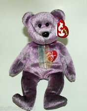Ty 2000 Signature Bear - Purple And Oh So Pretty - Lqqk!