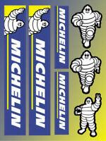 Michelin Tires laminiert Graphics Aufkleber Decal Honda Yamaha Kawasaki /14
