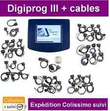 VALISE DIGIPROG 3 V4.94 + LOT DE CABLES - DIAGNOSTIQUE - REPROGRAMMATION OBD2