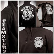 Teamsters hooded sweatshirt mens hoodie all sizes Chest, sleeve, back hood print