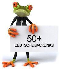 50 DEUTSCHE Backlinks - 100% manuell - Social Bookmarks - SEO - DOFOLLOW
