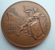 150th ANNIVERSARY OF OPENING OF GENT / GAND CANAL BELGIAN MEDAL / MEDAILL  M.15a