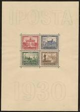 1930 Germany IPOSTA s/s mint**, Michel # Block 1 , € 1600.00 signed