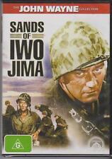 SANDS OF IWO JIMA - JOHN WAYNE - JOHN AGAR - ADELE MARA - DVD