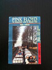 PINK FLOYD Biglietto Ticket concert Modena Italy 8 luglio 1988 David Gilmour