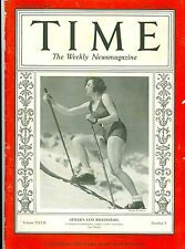 MAGAZINE TIME Leni Riefenstahl FEBRUARY 17 1936