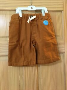 New Carter's Boy Caramel Tan Shorts many sizes