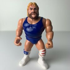 HACKSAW JIM DUGGAN WWF Hasbro Wrestling Figure Series 9 (1994) Light Hair WWE