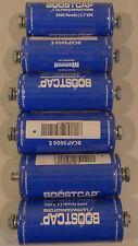 Maxwell BoostCap Ultra Capacitors 3000 Farad 2.7 VDC Lot of 6