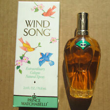 Wind Song by Prince Matchabelli Cologne Spray Women Perfume 2.6 oz 90% Full +Box