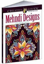 Creative Haven Mehndi Designs Collection Coloring Book Adult Coloring