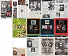 ELVIS COSTELLO : CUTTINGS COLLECTION -adverts-
