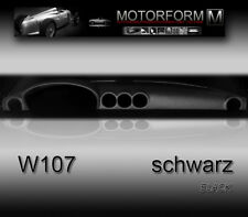 MERCEDES w107 r107 280sl-560sl CRUSCOTTO-Cover Copertura Dashboard Nero