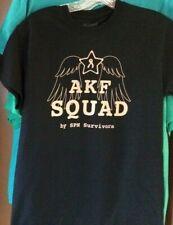 AKF Squad T-shirt, Black (mental health education, Always Keep Fighting)