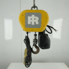 Ingersoll Rand Quantum 14 Ton Electric Chain Hoist 13 Lift 516 2 Speed 480v