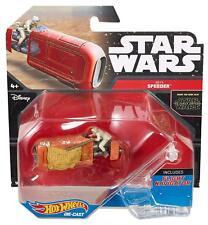 Hot Wheels Star Wars, Rey's Speeder Die-Cast Vehicle