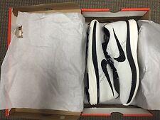 Brand New Men's NIKE Flyknit Lunar 3 - Size 13 - White/Black Running Shoes