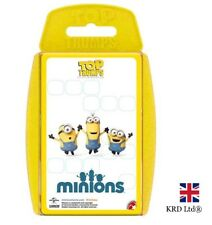 TOP TRUMPS MINIONS CARD GAME Family Kids Fun Playing Cards Christmas Gift Box UK