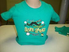 SOUTH BEND SILVER HAWKS TODDLER SHIRT - GREEN - 2T