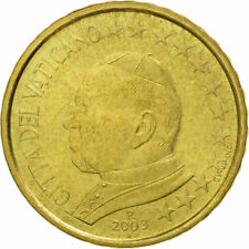 manueduc   Vaticano 2003   50  CÉNTIMOS   Juan Pablo II  De Cartera  NUEVO