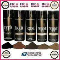 1pcs Toppik 27.5 g Hair Building Thickening Fibers Black Dark Brown Blonde Grey