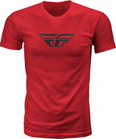 Fly Racing Fly F-Wing Tee Red 2X 352-06122X