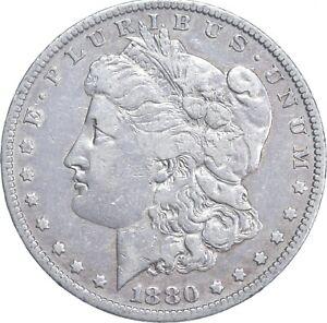 Early - 1880-O Morgan Silver Dollar - 90% US Coin *316