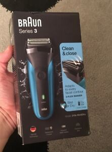 Braun Series 3 310s Rechargeable Electric Shaver Wet & Dry Brand New Unopened