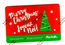 Limited Edition HOLIDAY WINNERS MARSHALLS Gift Card 2016 New No Value