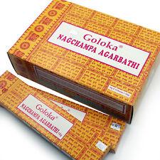 Encens Goloka Nag Champa Scentual Scents - boites Support