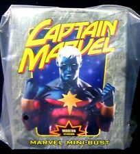 Bowen Captain Marvel Modern Bust Statue Marvel Comics New 2002 .