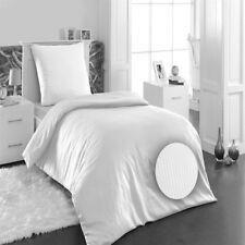 Bettwäsche Mako Satin Damast 100%25 Baumwolle Hotel Bettgarnitur 135x200 / 155x220