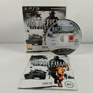 Battlefield Bad Company 2 - PlayStation 3 (PS3) - PAL - Complete - Free P&P
