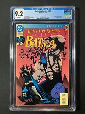 "Detective Comics #664 CGC 9.2 (1993) - ""Knightfall"" part 12 - Joke & Bane app"