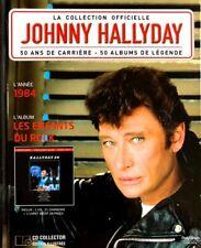 Johnny Hallyday - La Collection Officielle 1984 Les Enfants du Rock - Livre CD