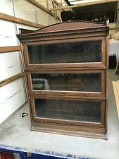 Antique Lebus 3 Tier Stacking Bookcase