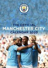 Manchester City FC 2020 Official A3 Wall Calendar Man City