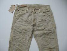 DENIM & SUPPLY RALPH LAUREN Men's Khaki Distressed/Paint Splattered Jeans 33x32
